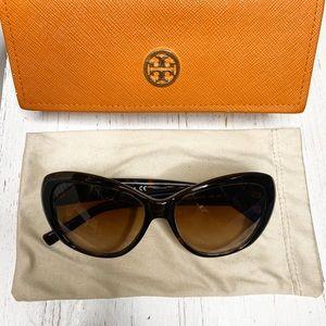 Tory Burch TY7005 Tortoise Cat-eye Sunglasses